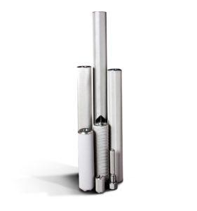 Świece filtracyjne do pary - różne rozmiary i typy wkładów