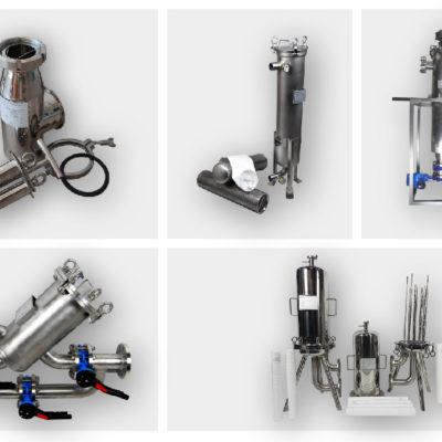 Types of liquid filters