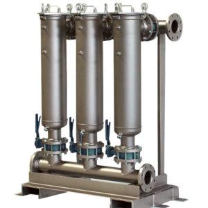 Wielostopniowy system filtracyjny