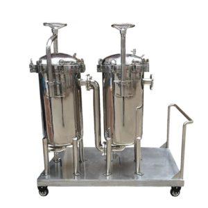 System filtracyjny wielostopniowy