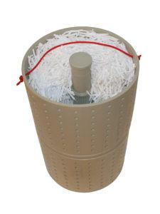 Wkład filtra chemoodpornego
