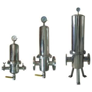 Obudowy filtrów świecowych w różnych rozmiarach