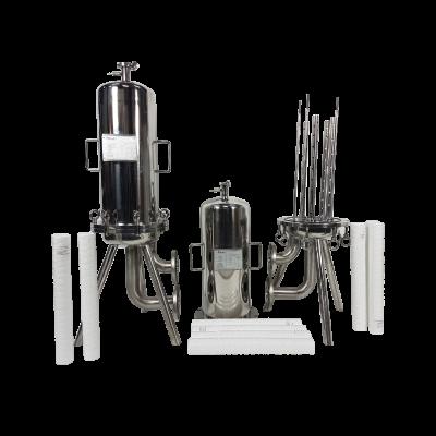 Obudowy filtrów świecowych i wkłady